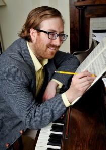 Ezra composing
