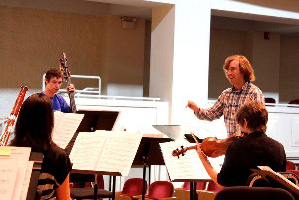 Ezra conducting
