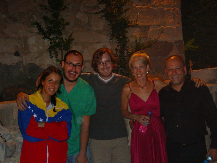 from left: Beril Sun, Meriç Esen, Ezra Donner, Heidi Hoffman, Orhan Ahıskal