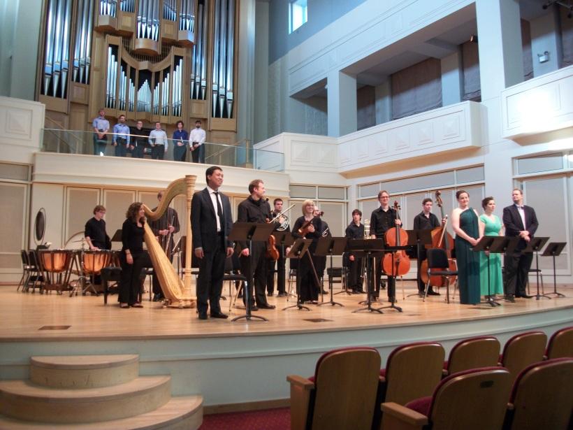Master of Music recital, Indiana University November 7, 2010