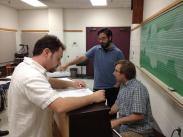 a rehearsal at the 2012 John Duffy Composers' Institute, Norfolk, Va.