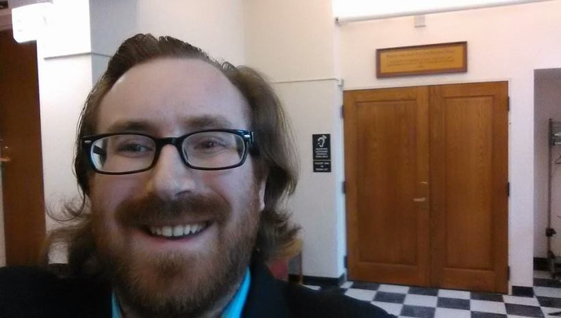 Pre-competition selfie before the George Gershwin International Music Competition — at UChicago Music Dept. February 8, 2015